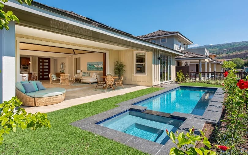 Private Pool and Lanai | Holua Kai at Keauhou on the Big Island of Hawaii | Brookfield Residential