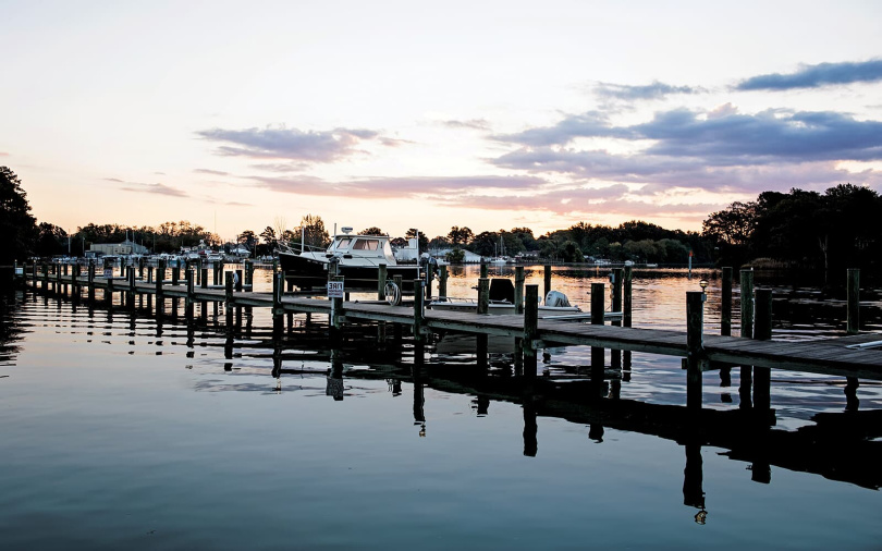 Boat Slips in Harbor | Easton Village, MD | Brookfield Residential
