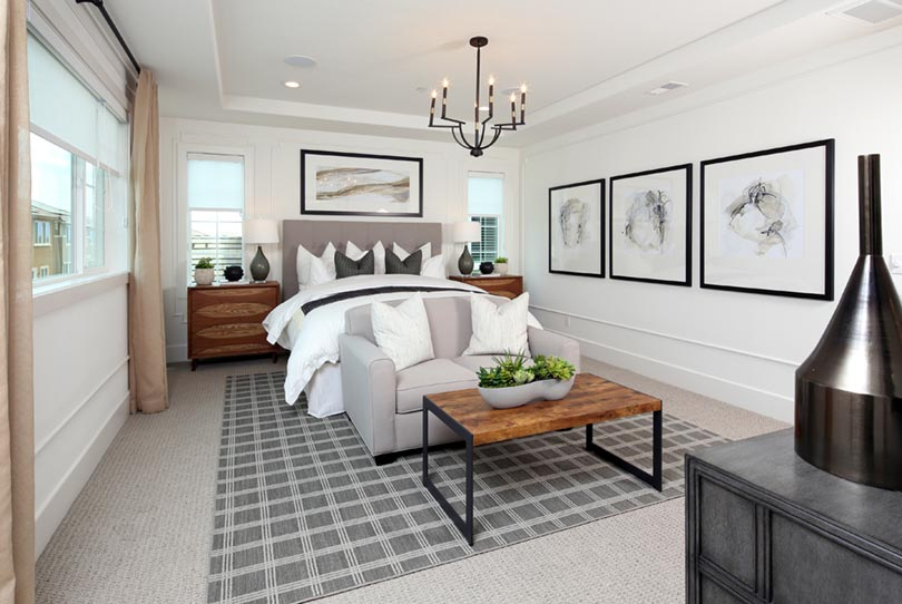 Residence 2 Master Suite | Citrus at Emerson Ranch in Oakley, CA | Brookfield Residential