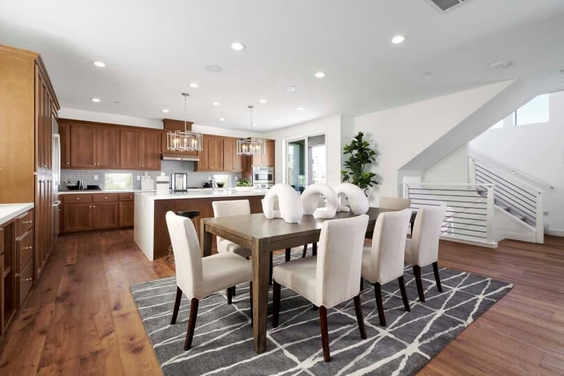 Mulholland Dining Room | Emerson Ranch in Oakley, California | Brookfield Residential