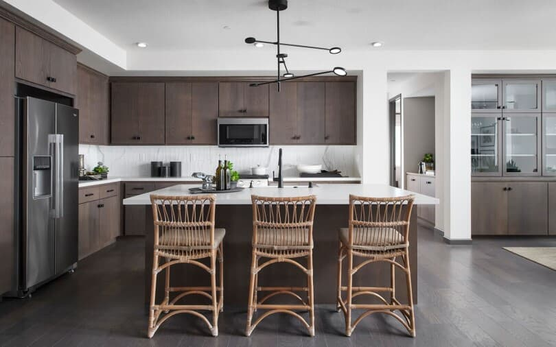 Kitchen in Residence Two at Broadway at Boulevard in Dublin, CA by Brookfield Residential