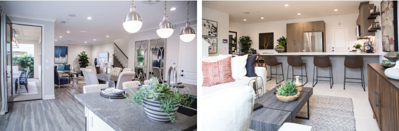 Fill empty wall space | How to Create Space with an Open-Concept Design | Brookfield Residential