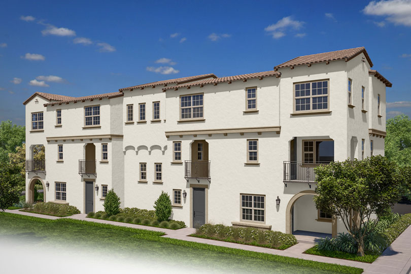 Exterior Latitude at Rancho Tesoro in San Marcos CA Brookfield Residential