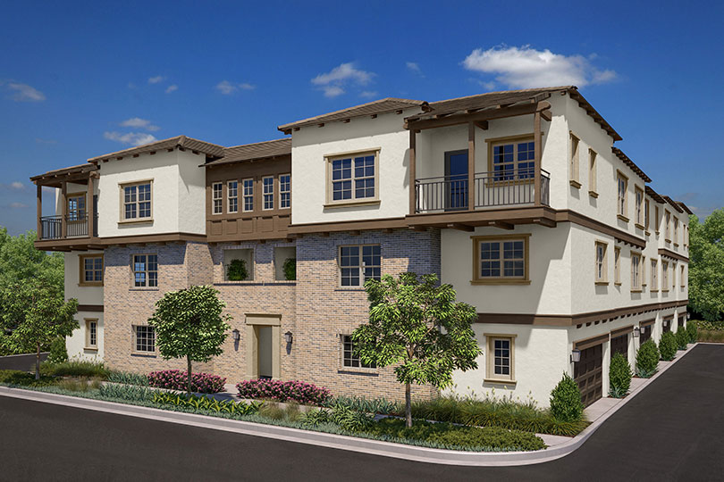 Exterior 10b Latitude at Rancho Tesoro New homes in San Marcos CA Brookfield Residential