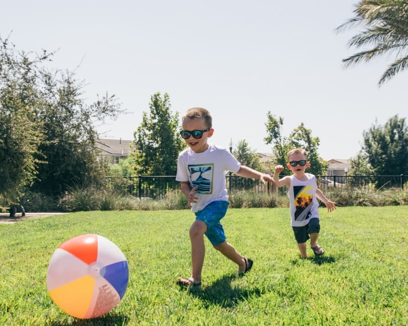 Children Playing at Canvas Park | New Haven in Ontario Ranch, California | Brookfield Residential