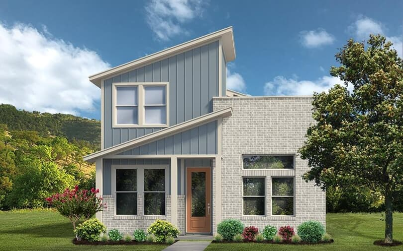 Union Park Exterior | New Home | Easton Park in Southeast Austin, Texas | Brookfield Residential