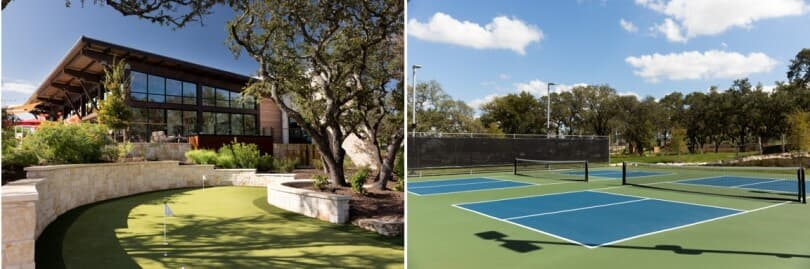 L-putting-green; R-tennis-courts-kissing-tree-san-marcos-texas-810x269