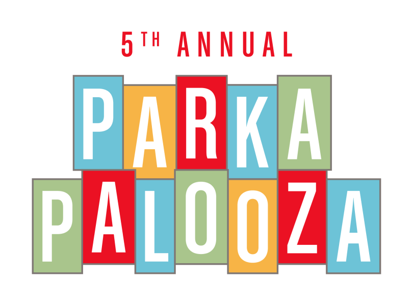 5th Annual Parkapalooza Logo in Austin, TX