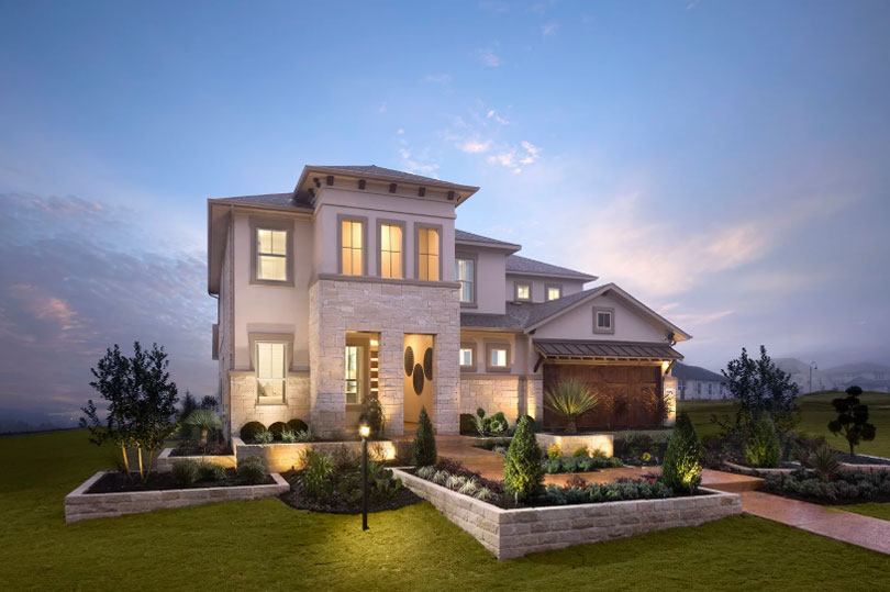 Exterior I Highland Terrace at Rough Hollow in Lakewood, TX | Brookfield Residential