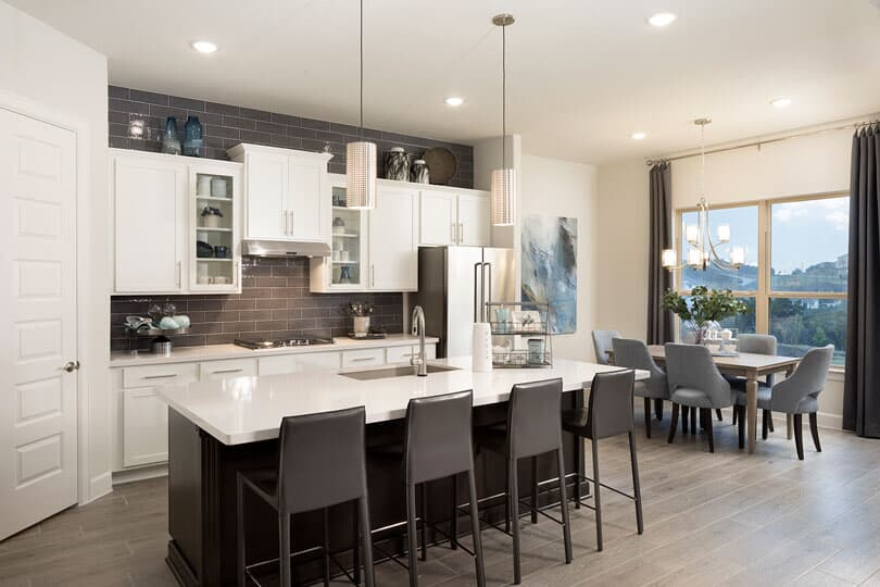 Kitchen I Highland Terrace at Rough Hollow in Lakewood, TX | Brookfield Residential