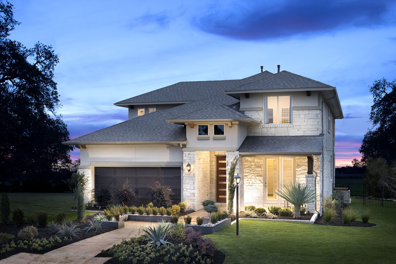 Exterior rendering | Rough Hollow in Lakeway, TX | Brookfield Residential