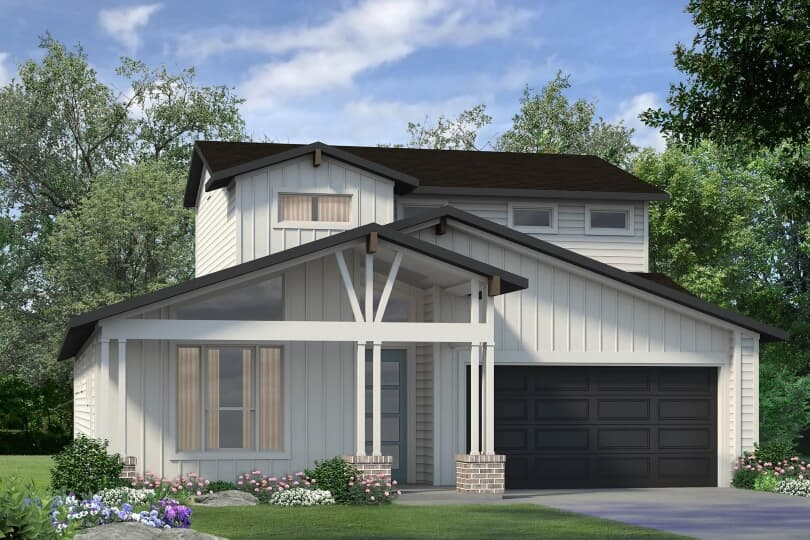 Howard Exterior | Addison South in Southeast Austin, Texas | Brookfield Residential