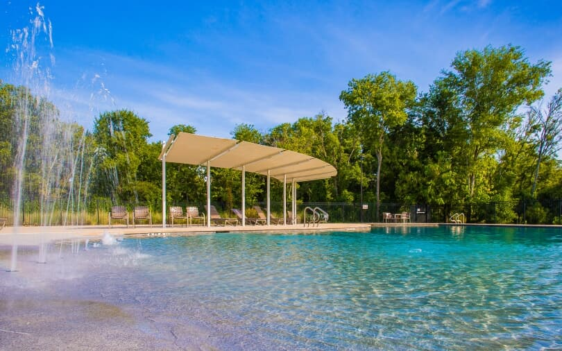Splash Pool | Addison South in Southeast Austin, Texas | Brookfield Residential