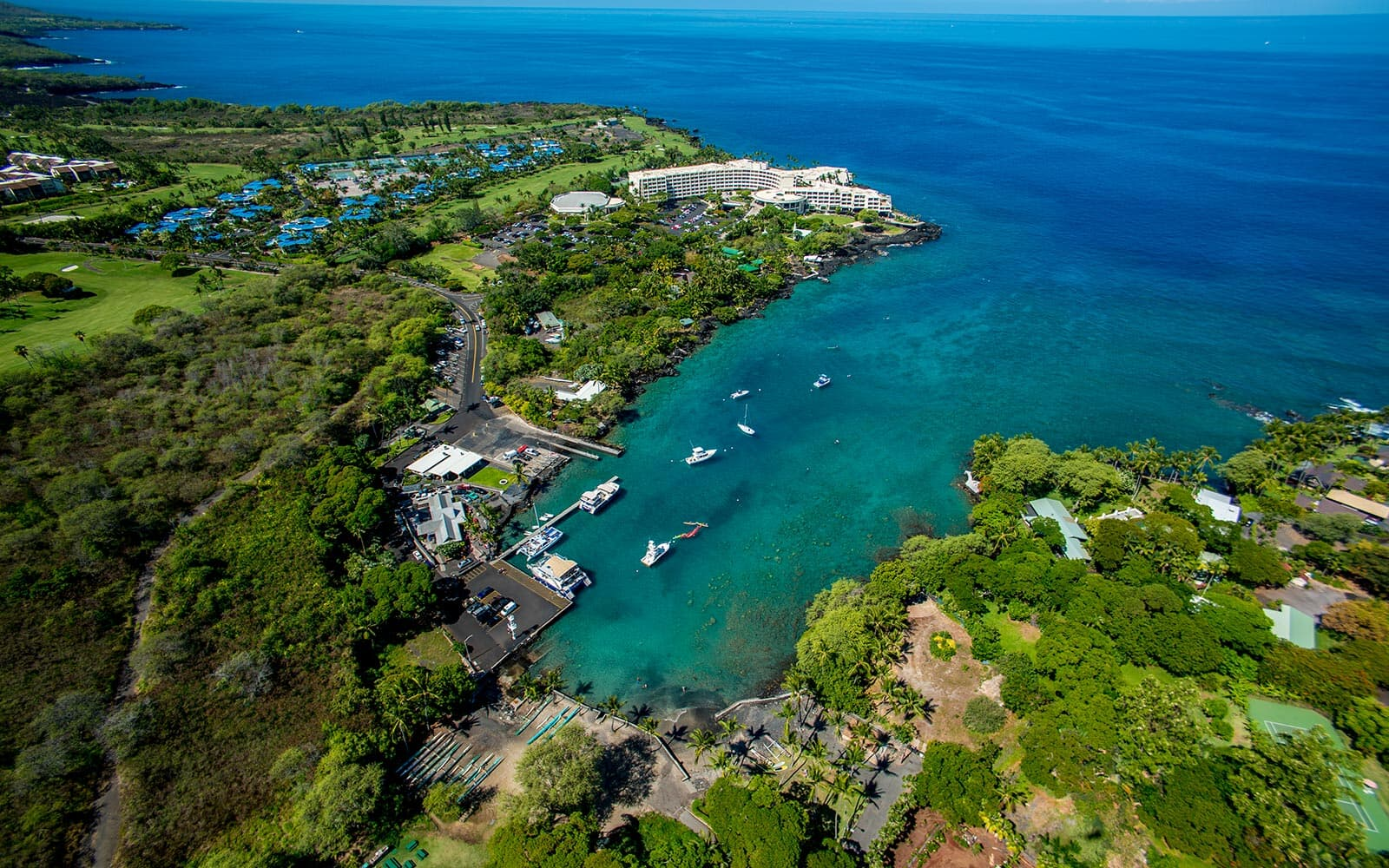keauhou bay marina big island hawaii brookfield residential