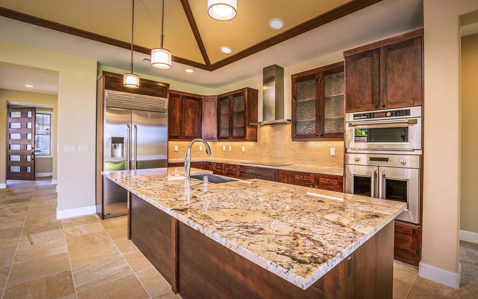kitchen new home plan 2 holua kai at keauhou brookfield residential