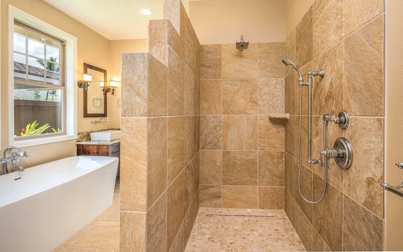 master bath walk in shower plan 2 holua kai at keauhou brookfield residential