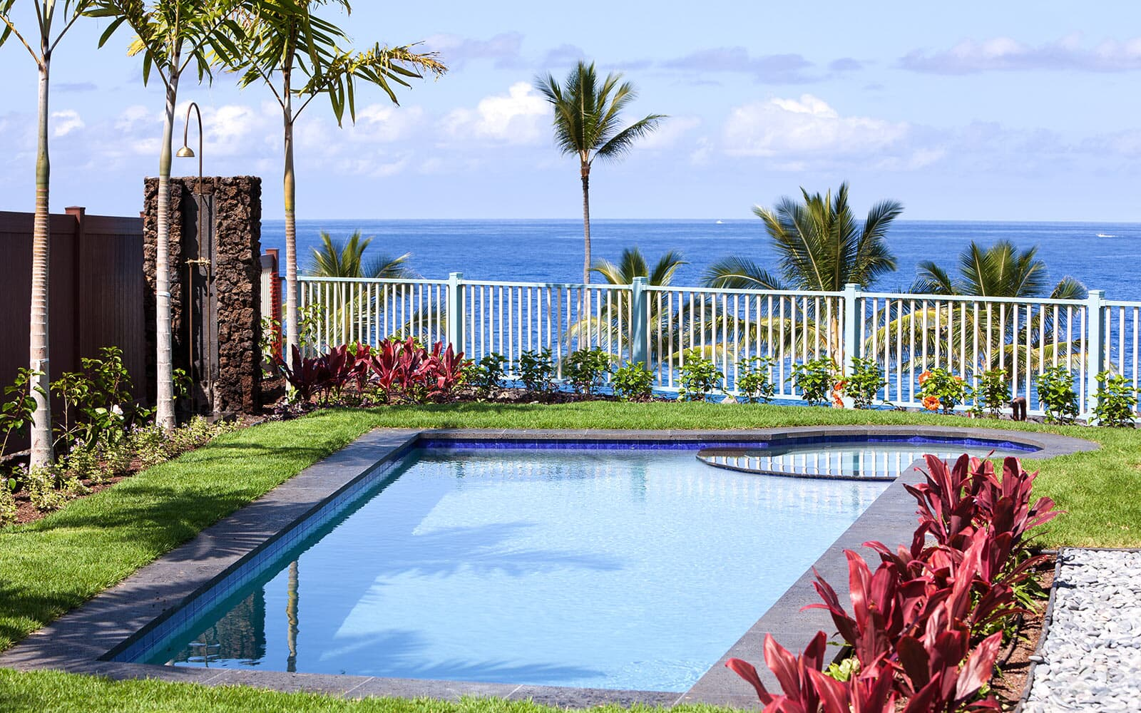 private pool spa oceanfront plan 2 holua kai at keauhou brookfield residential
