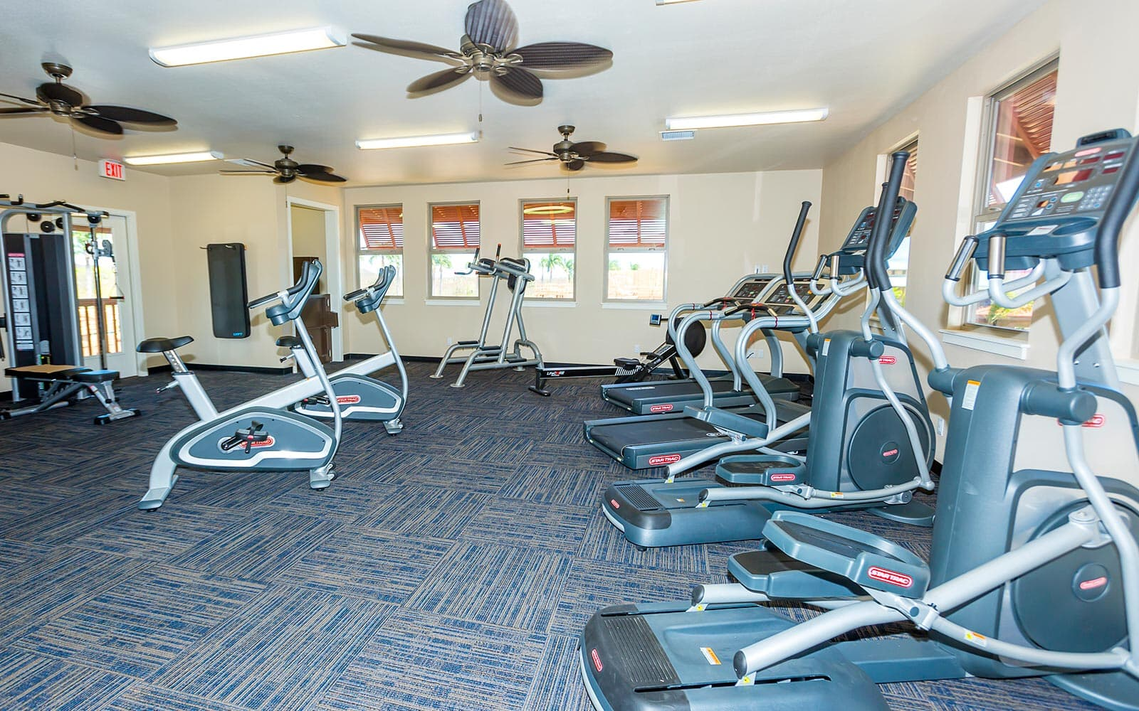 fitness center cardio pilimai at poipu kauai brookfield residential