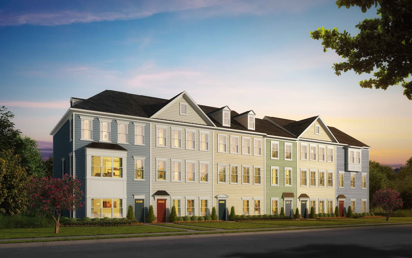 CamdenII-exteriorrendering-townhomes-north-potomac-md-travilah-station-brookfield-residential