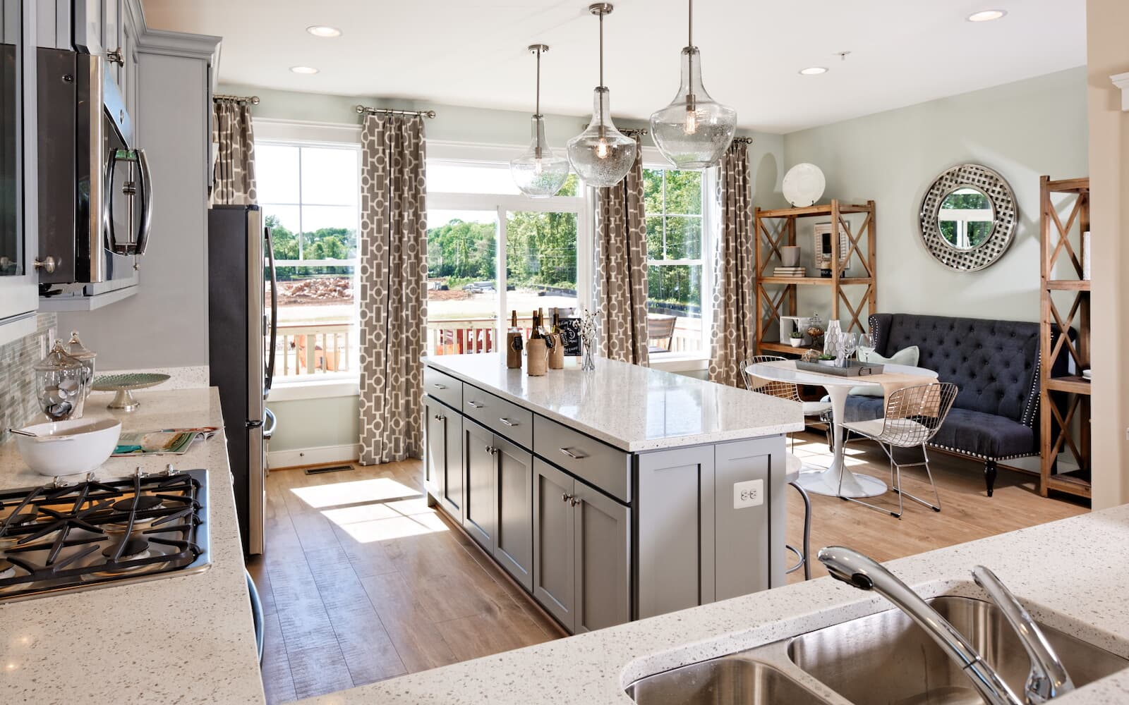 CamdenII-kitchen-townhomes-north-potomac-md-travilah-station-brookfield-residential