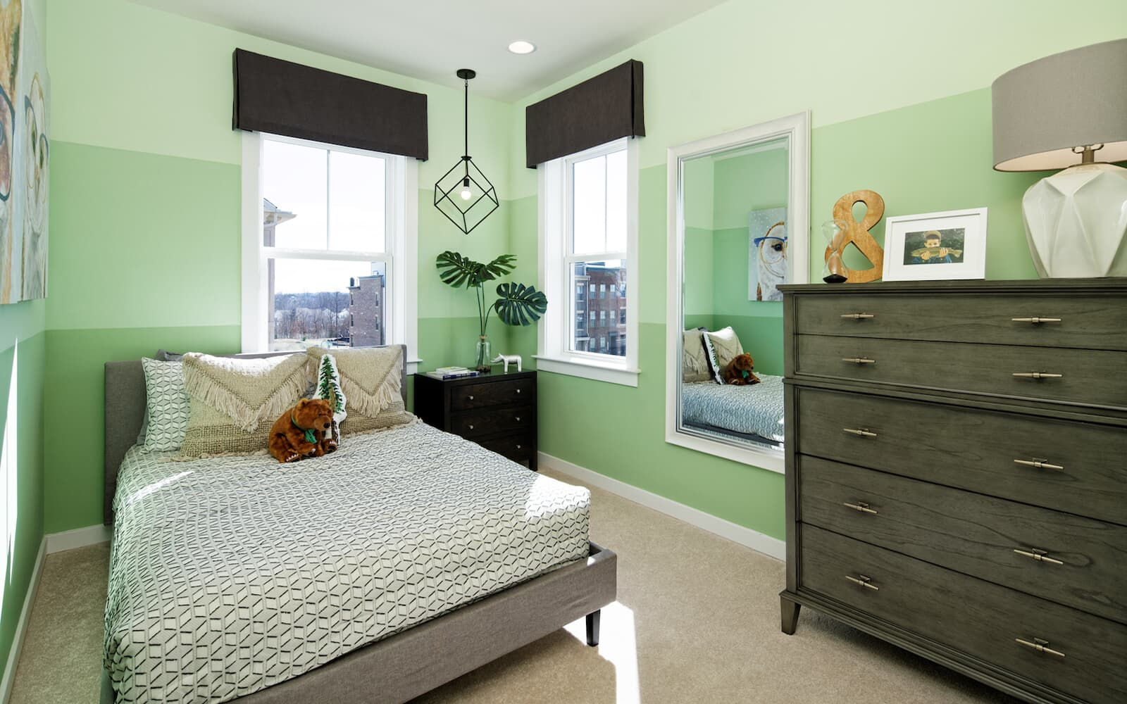 Moorefield-bedroom2-townhomes-north-potomac-md-travilah-station-brookfield-residential
