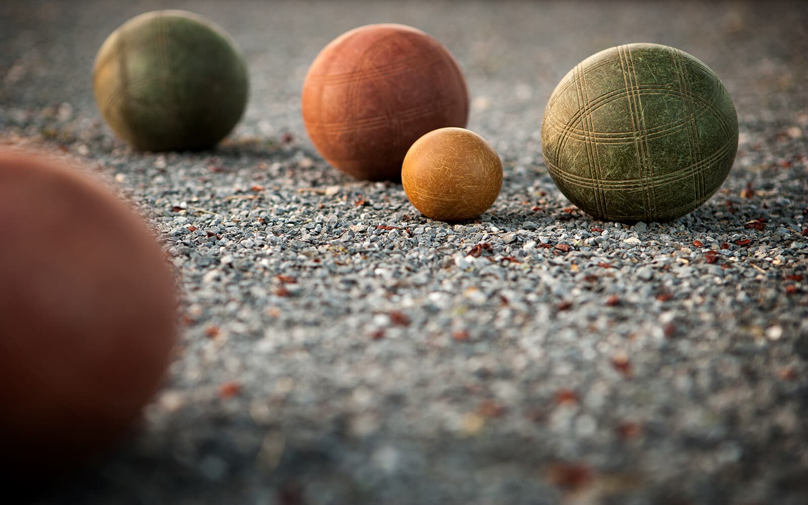 Enjoy bocce ball with neighbors at Easton Village in Easton MD