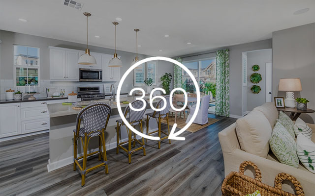 Brookfield Residential 360º virtual tours