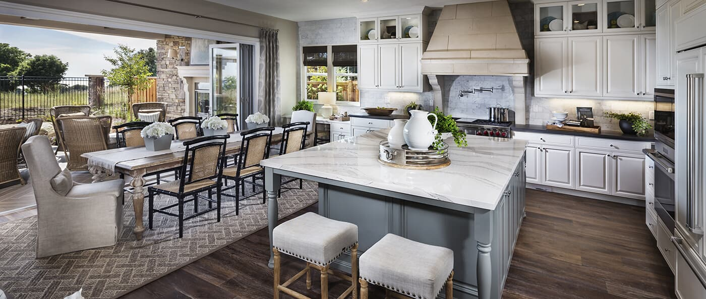 Luxury Open Concept Dining Room And Kitchen   Crown Point In Hayward, CA    Brookfield