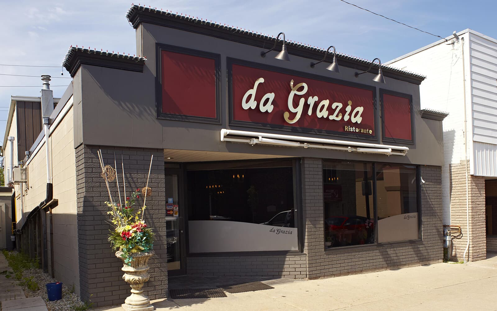 Da Grazia restaurant in Baxter, ON