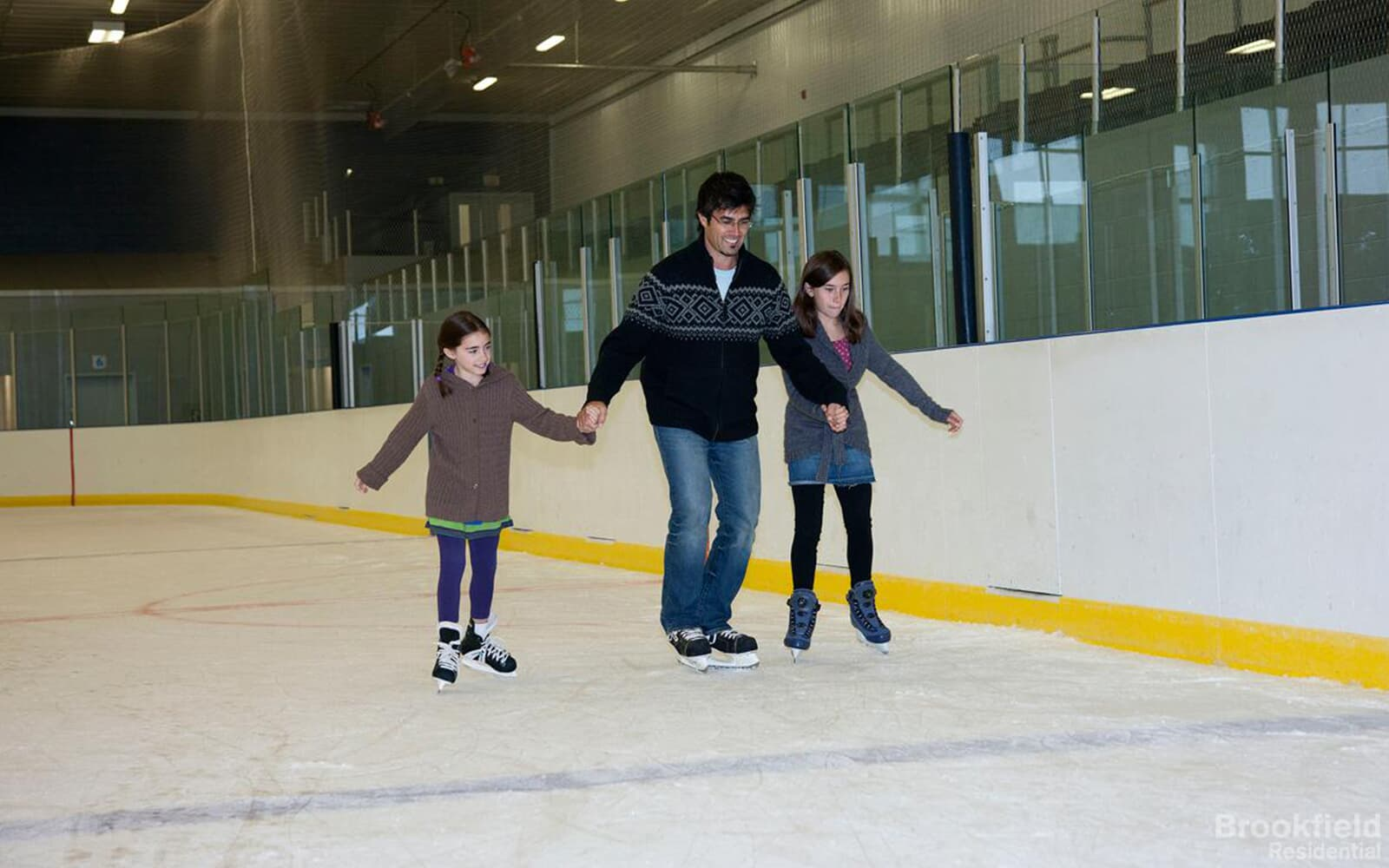 Indoor skating in Caledon East, ON