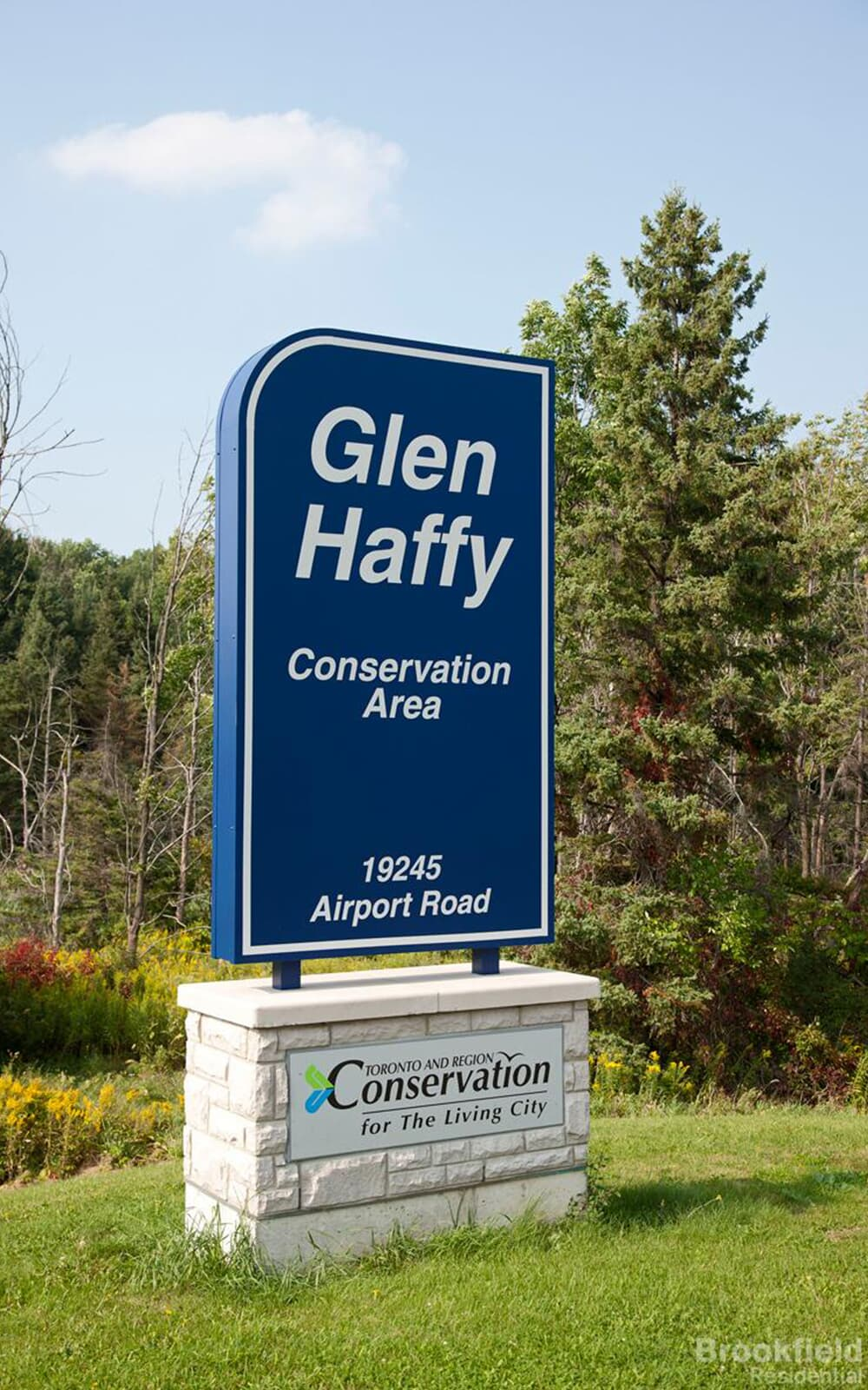Glen Haffy Conservation Area in Caledon East, ON