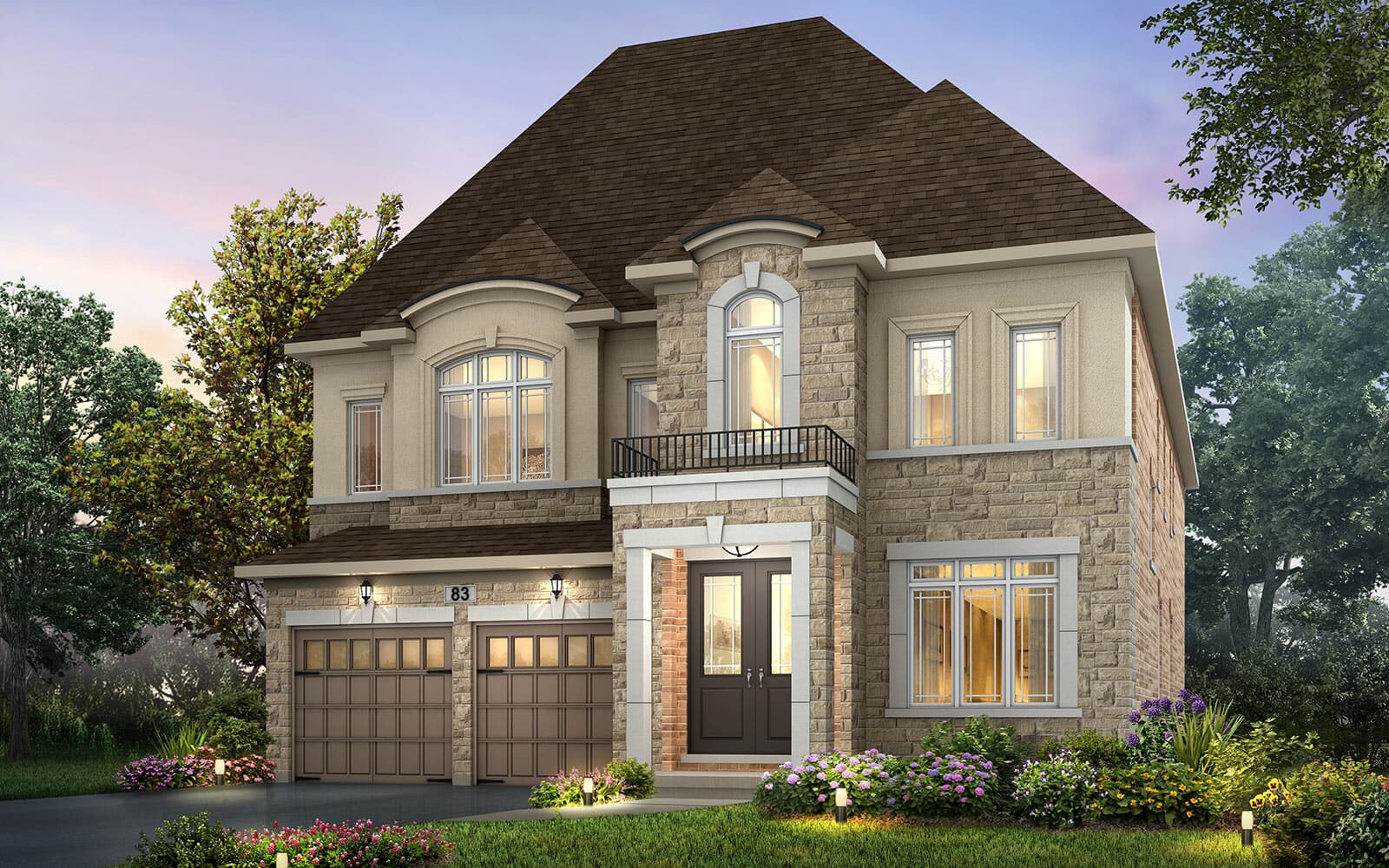 Exterior Palgrave Style D |Palgrave at Pathways in Caledon East| Caledon, ON | Brookfield Residential