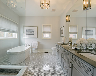 Bathroom - Model house in Woodhaven, ON