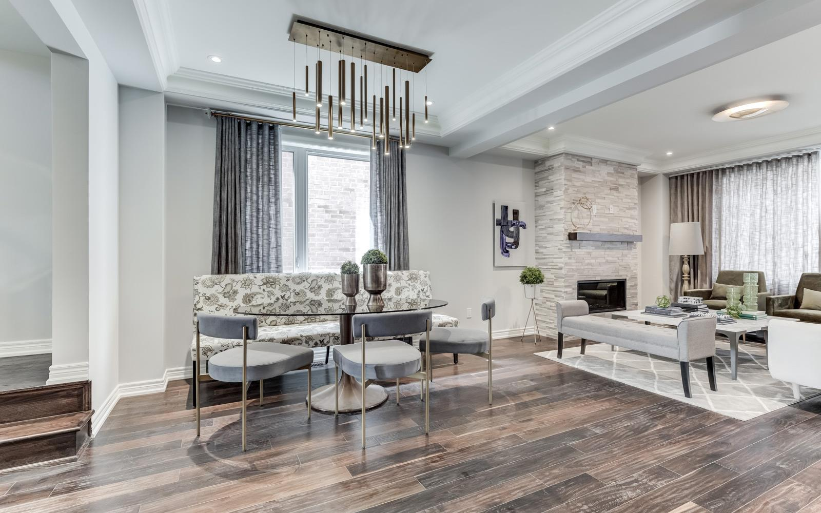 Living Room Dunbarton | Dunbarton at New Seaton in Pickering | Pickering, ON | Brookfield Residential