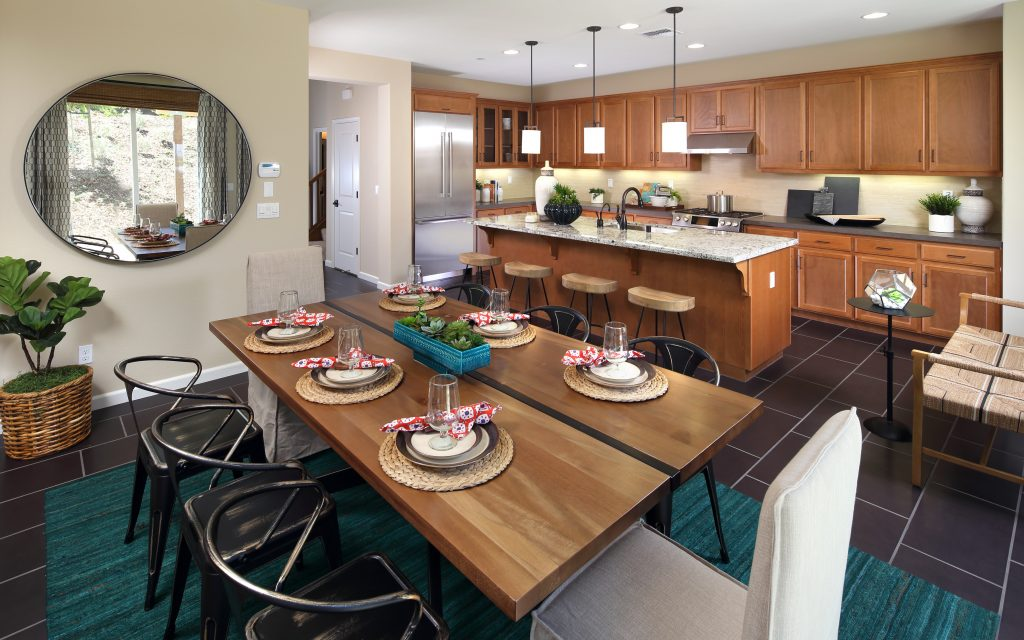 Kitchen in luxury home | Ambrosia in Gilroy, CA | Brookfield Residential