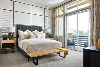 Residence 2 Master Bedroom | Huntington at Boulevard in Dublin, CA | Brookfield Residential