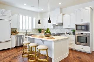 Residence 3 Kitchen | Huntington at Boulevard in Dublin, CA | Brookfield Residential