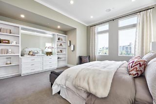 Residence 3 Master Bedroom | Huntington at Boulevard in Dublin, CA | Brookfield Residential