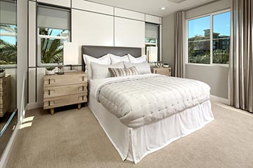 Residence 1 Master Bedroom | Wilshire at Boulevard in Dublin, CA | Brookfield Residential