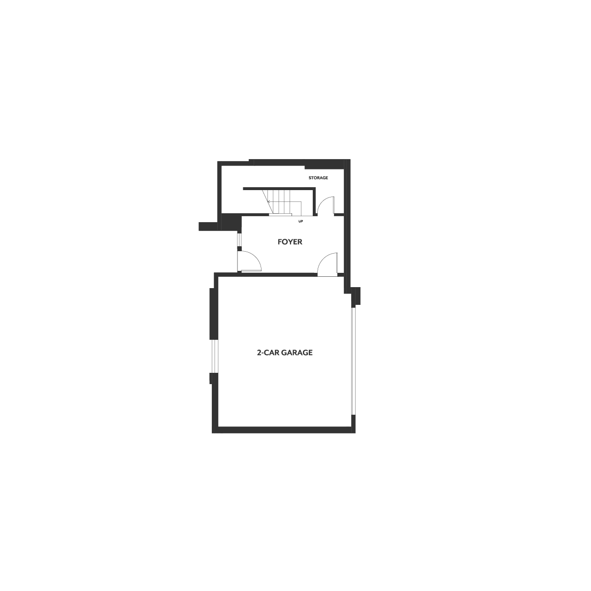 Residence 5 floor 1 plan | Wilshire at Boulevard in Dublin, CA | Brookfield Residential