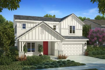 Residence 1A | Citrus at Emerson Ranch in Oakley, CA | Brookfield Residential