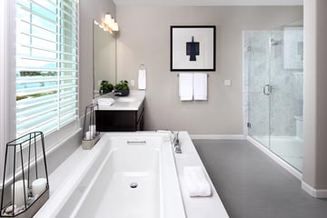 Master Bath Residence 3 | Citrus at Emerson Ranch in Oakley, CA | Brookfield Residential