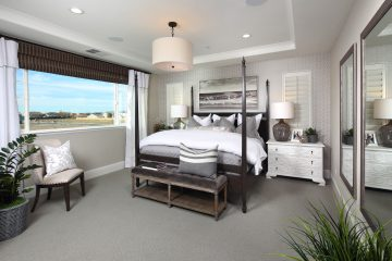 Residence 4 Master Bedroom | Laurel at Emerson Ranch in Oakley, CA | Brookfield Residential