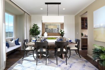 Dining room in luxury home | Merritt at Emerson Ranch in Oakley, CA | Brookfield Residential