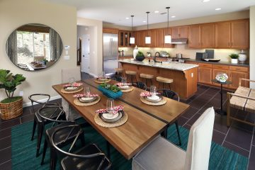 Kitchen in luxury home | Ambrosia at Glen Loma Ranch in Gilroy, CA | Brookfield Residential
