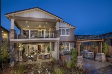Read exterior view of luxury home | Crown Point at Stonebrae in Hayward, CA | Brookfield Residential