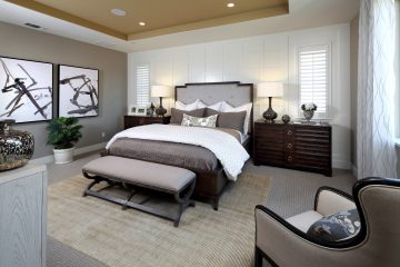 Master bedroom in luxury home | Mataro at Glen Loma Ranch in Gilroy, CA | Brookfield Residential
