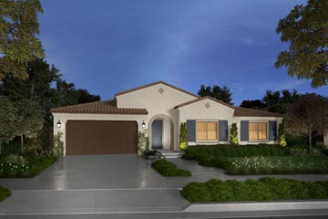 Residence 2A rendering | Savannah at Audie Murphy Ranch in Menifee | Brookfield Residential