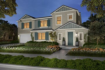 Residence 3B rendering | Savannah at Audie Murphy Ranch in Menifee | Brookfield Residential