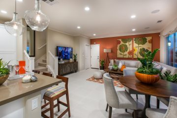 Great room in new luxury home | Holiday at New Haven in Ontario Ranch, CA | Brookfield Residential